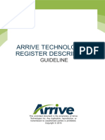 Register Description Guideline