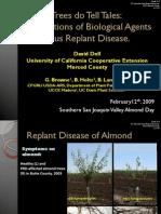 Implications of Biological Agents in Prunus Replant Disease