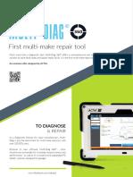 ACTIA Multi-Diag 360 Vehicle Diagnostic and Repair Tool EN