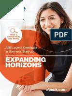 1. ABE L3BSU Qualification Brochure & Syllabus (Web Version) August 2016...