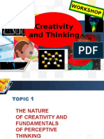Module 1- Creativity