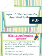 Impact of Perception on Appraisal System