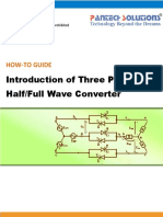Introduction of Three Phase Half-Full Wave Converter