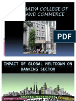 IMPACT of GLOBAL Meltdown on Banking Sector