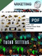 b2b Marketing of Maruti & Caterpillar