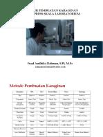 Fuad AR - Prosedur Pembuatan Karaginan Metode Press Skala Lab