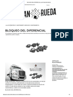 Bloqueo Del Diferencial _ Juan Rueda International