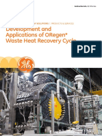 Oregen Wasted Heat Recovery Cycle
