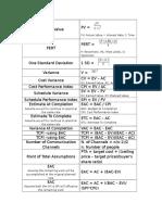 PMP Formulas 1.docx