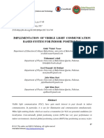 Implementation of Visible Light Communication Based System for Indoor Positioning
