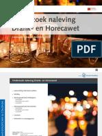 Rapport Onderzoek Naleving Drank- En Horecawet