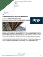 Predimensionamiento de Tableros de Vigas Metálicas _ Estructurando