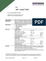 Araldite Ly564 Aradur 2954.PDF Resin