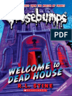Goosebumps Welocome Tothe Dead House