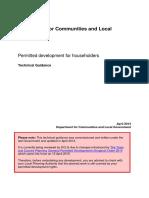 Householders Technical Guidance