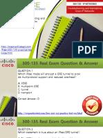 300-135 Practice Exam Questions