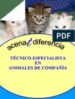 Dosier Tecnico Especialista Animales Compañia