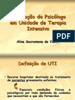 Psicologo em UTI.ppt