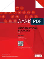GAMSAT Information Booklet