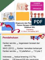 Diagnosis Dan Penatalalaksanaan Pasien Dengan Kanker Serviks Stadium