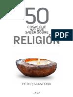 50 Cosas Que Hay Que Saber Sobre Religion