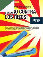 Estudio Alaciadoras de Cabello 34-45 Enero 2009