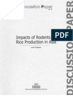 Impacts of Rodents on Rice Production in Asia