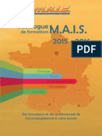 Catalogue Formations Mais 2015 2016 1