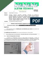 Teste Sensores-btrf0151