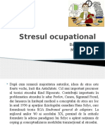 Ppt Stresul Ocupational Barbu Marina