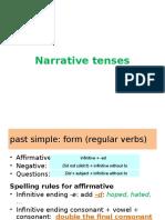 Grammar Presentation Past Tenses Modified