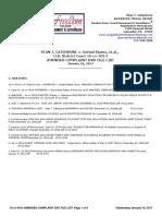 16-cv-4014 U.S. District Court  CATERBONE v. United States, et.al., AMENDED COMPLAINT DVD FILE LIST January 18, 2017