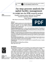 Step-By-step Process Analysis for Hospital Facility Management