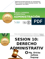 Sesion 10 - Derecho Administrativo