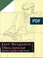 Bergamin Jose - Obra Esencial (Selección Nigel Denis)