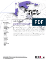 Geopolitics of Energy - March 2015