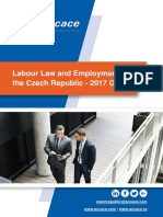 Labour Law and Employment in the Czech Republic