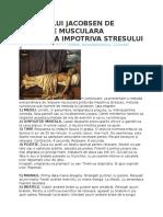 Metoda Lui Jacobsen de Relaxare Musculara Profunda Impotriva Stresului