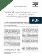 Nanometric Si3N4 Particulate-reinforced Aluminum Composite