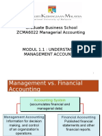 M1-1 Mgt Accounting & Org