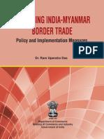 Final Enhancing India Myanmar Border Trade Report