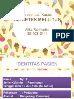 Presentasi DM Diabetes Melitus