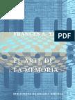 Yates frances - El arte de la memoria.pdf