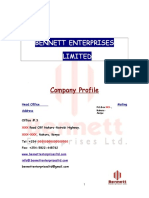 Bennett Enterprises Limited Profile