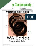 Wa Series Manual