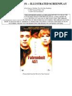 Roteiro Fahrenheit 451 Screenplay in ENGLISH