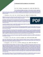 Rules 74-76 SCRA Principles