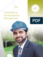 Guide to the NEBOSH Certificate in Environmental Management (May 2012)