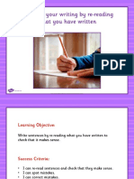 Editing Writing Teaching Powerpoint