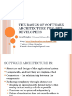 The Basics of Software Architecture for .Net Developers